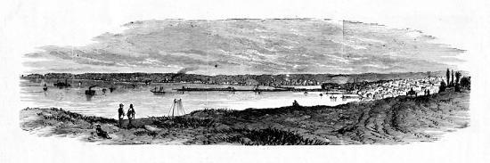 'View of Milwaukee Bay, Lake Michigan', 1883-Unknown-Giclee Print