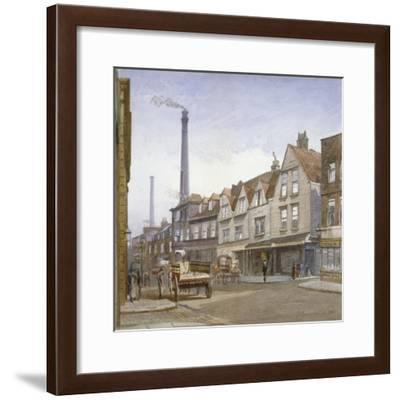 View of Mint Street, Southwark, London, 1884-John Crowther-Framed Giclee Print