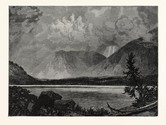 View of Moore's Lake, Utah, United States of America--Giclee Print