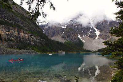 View of Moraine Lake in Alberta, Canada-Jill Schneider-Photographic Print