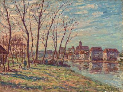 View of Moret, 1889-Alfred Sisley-Giclee Print