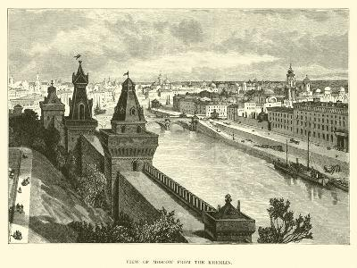 View of Moscow from the Kremlin--Giclee Print