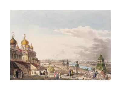 View of Moscow Taken from the Imperial Palace--Giclee Print