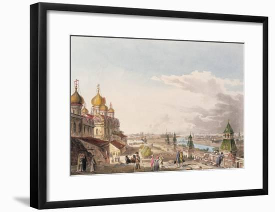 View of Moscow Taken from the Imperial Palace--Framed Giclee Print