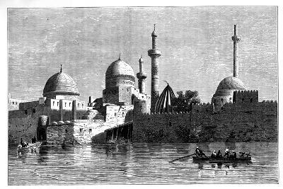 View of Mosul from the River Tigris, Iraq, C1890--Giclee Print