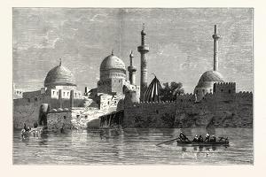 View of Mosul (From the Tigris). Baghdad, the Capital of Iraq, Stands on the Banks of the Tigris