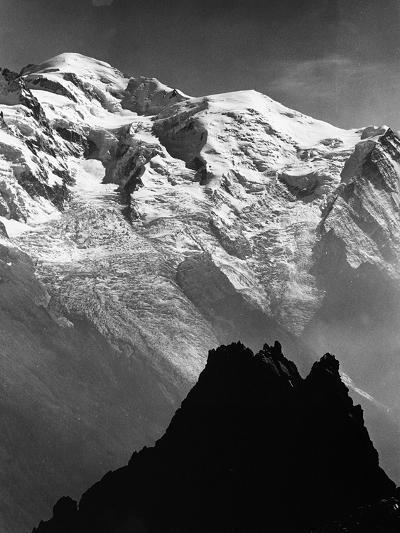 View of Mount Bianco, France-Dusan Stanimirovitch-Photographic Print