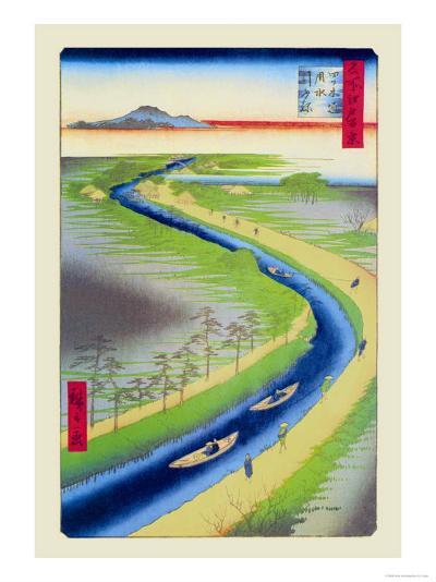 View of Mount Fuji-Ando Hiroshige-Art Print