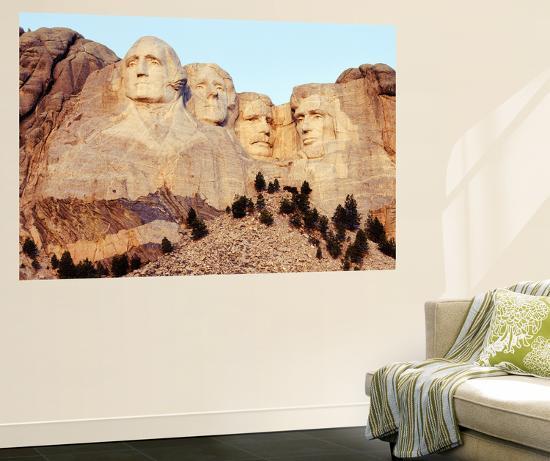 View of Mount Rushmore National Memorial, Keystone, South Dakota, USA-Paul Souders-Giant Art Print