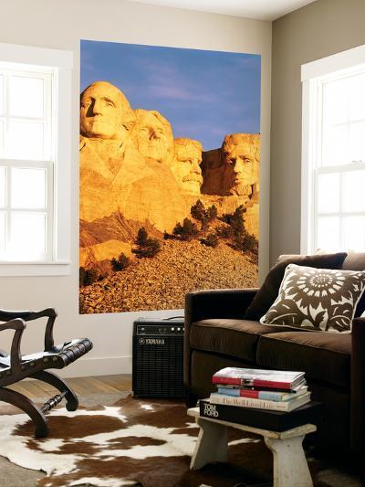 View of Mount Rushmore National Memorial, Keystone, South Dakota, USA-Walter Bibikow-Giant Art Print