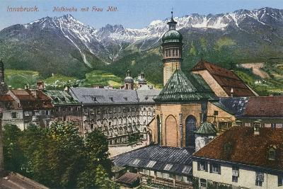 View of Mountains from Innsbruck, Austria--Art Print
