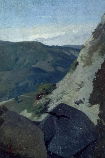 View of Mountains-Stefano Bruzzi-Giclee Print