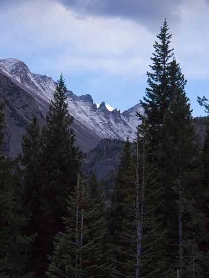View of Moutains Near Bear Lake in Rocky Mountain National Park-Anna Miller-Photographic Print
