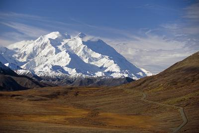 View of Mt Mckinley and Ak Range from Stony Hill W-Design Pics Inc-Photographic Print