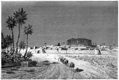 View of Murzuk, C1890-Barbant-Giclee Print