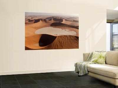 View of Namib Desert Sand Dunes, Namib-Naukluft Park, Sossusvlei, Namibia, Africa-Wendy Kaveney-Wall Mural