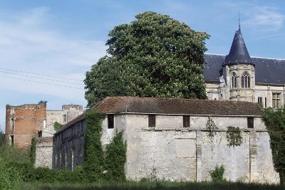 View of Nantouillet Castle, Ile-De-France, France, 16th Century--Giclee Print