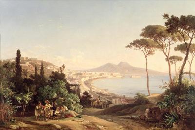 View of Naples, 1837/38-Carl Wilhelm Goetzloff-Giclee Print