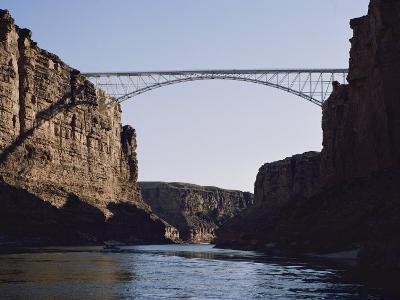 View of Navajo Bridge-W^ E^ Garrett-Photographic Print
