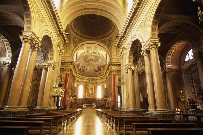 View of Nave of Cathedral of Macerata, Marche, Italy--Giclee Print