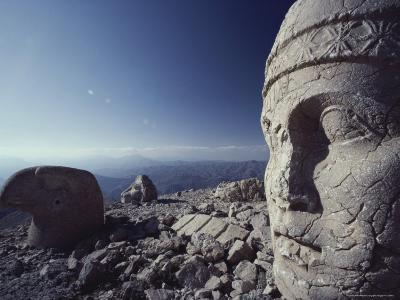 View of Nemrut Dag Archaeological Site-Peter Carsten-Photographic Print