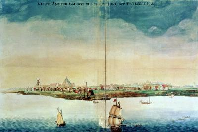 View of New Amsterdam, 1650-3--Giclee Print