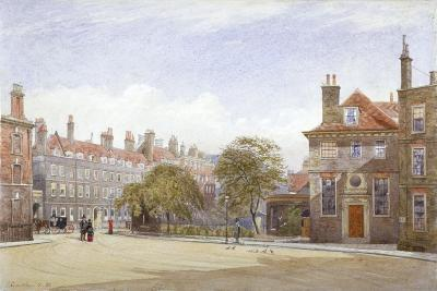 View of New Inn, Wych Street, Westminster, London, 1882-John Crowther-Giclee Print