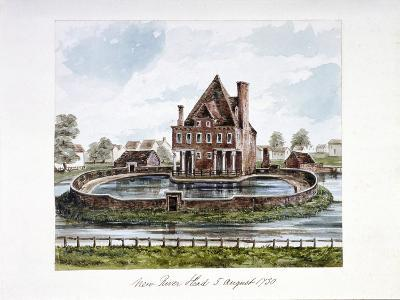 View of New River Head, Finsbury, London, 1730--Giclee Print