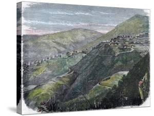 View of Newcastle, in the Blue Mountains, Jamaica, C1880