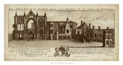 View of Newstead Abbey- Buck-Giclee Print