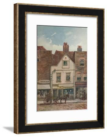 View of no 72 Cheyne Walk, Chelsea, London, 1883-John Crowther-Framed Giclee Print