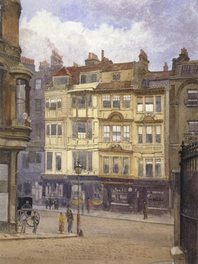 View of Nos 164-165 Strand, Westminster, London, 1880-John Crowther-Giclee Print