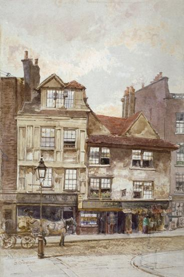 View of Nos 87-89 Drury Lane, Westminster, London, C1880-John Crowther-Giclee Print