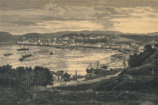 View of Oban, late 19th century-Unknown-Giclee Print