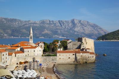 View of Old Town, Budva, Montenegro, Europe-Frank Fell-Photographic Print