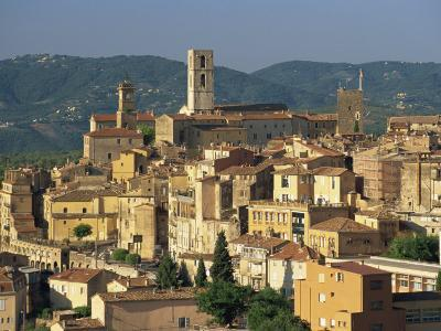 View Of Old Town Grasse French Perfume Capital Alpes Maritimes