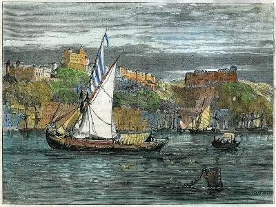 View of Oporto, Portugal, C1880- Swain-Giclee Print