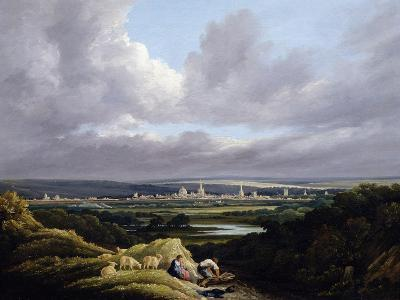 View of Oxford from a Distance-J^ M^ W^ Turner-Giclee Print