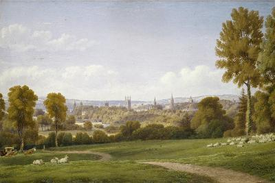 View of Oxford from Headington-J^ M^ W^ Turner-Giclee Print