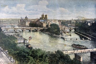 View of Paris, 1892-Henri Meyer-Giclee Print