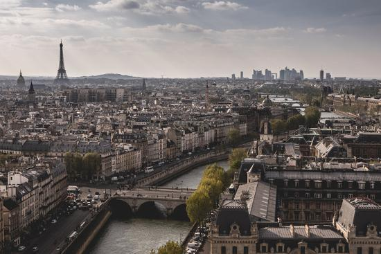 View Of Paris From Notre Dame-Lindsay Daniels-Photographic Print