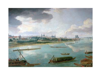 View of Paris from the Quai De La Rapee-Pierre-Denis Martin-Giclee Print