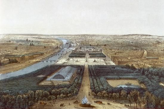 View of Paris--Giclee Print