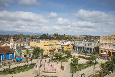 View of Parque Serafin Sanchez, the Main Square, Surrounded by Neoclassical Buildings-Jane Sweeney-Photographic Print