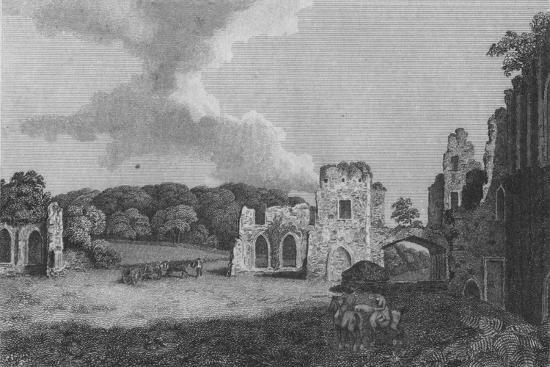 'View of part of  the Ruins of the Abbey of St. Agatha: near Eastby, Yorkshire', 1791-Unknown-Giclee Print