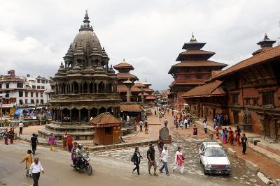 View of Patan's Durbar Square-Jill Schneider-Photographic Print