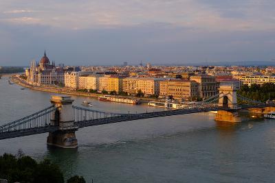 View of Pest, Hungary-Carlo Morucchio-Photographic Print