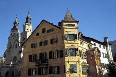 View of Piazza Del Duomo, Bressanone, Trentino-Alto Adige, Italy--Giclee Print