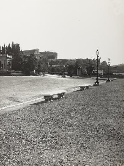View of Piazzale Michelangelo, Against the Backdrop of the Basilica of San Miniato--Photographic Print