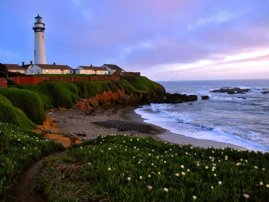 View of Pigeon Point Lighthouse, Off Scenic Route 1,California-Raymond Gehman-Photographic Print